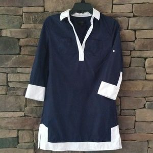 J. CREW Camp Tunic Dress.  NWOT